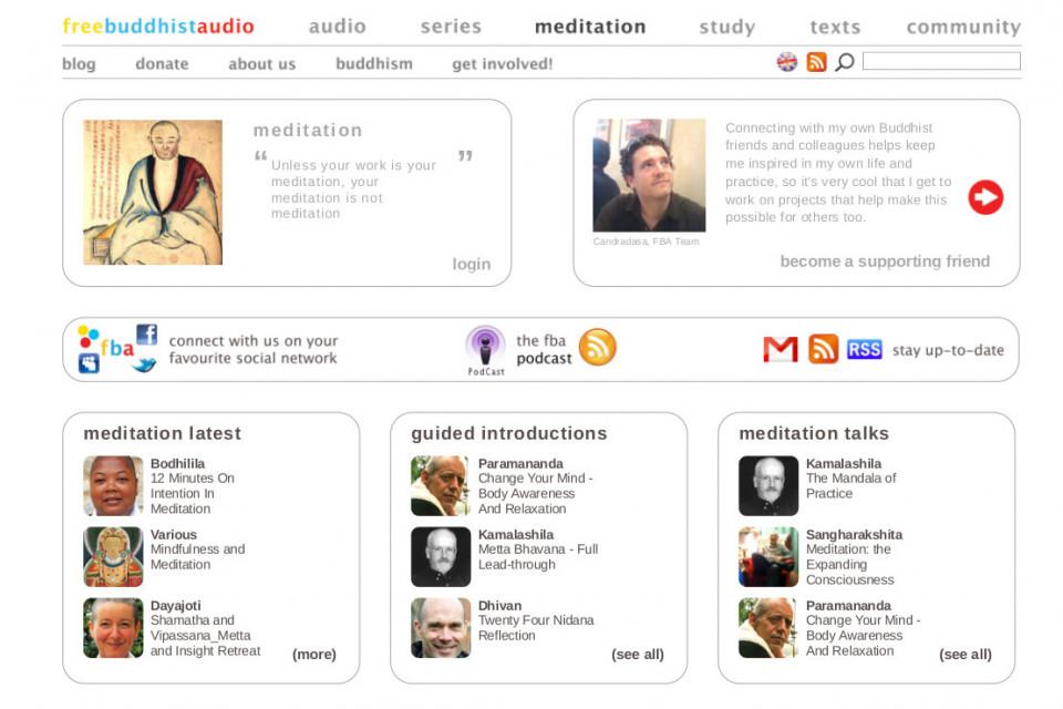 free buddhist audio